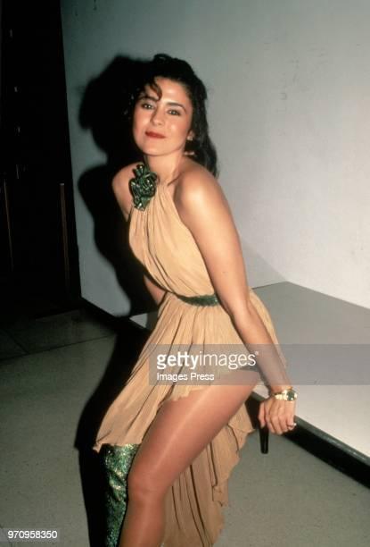 Maria Conchita Alonso circa 1984 in New York