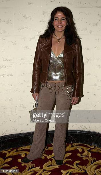 Maria Conchita Alonso during 2002 ALMA PreAwards Gala at The Regal Biltmore Hotel in Los Angeles California United States