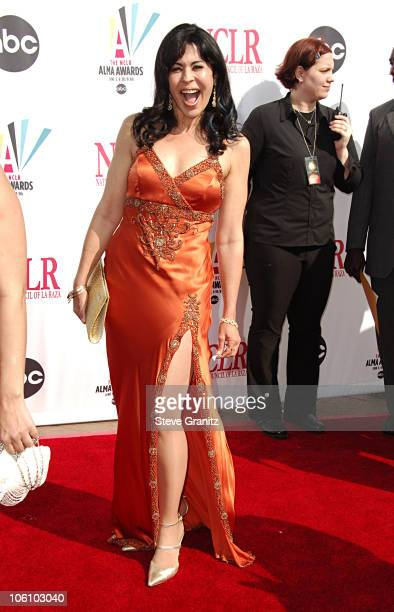 Maria Conchita Alonso during 2006 NCLR ALMA Awards Arrivals at Shrine Auditorium in Los Angeles California United States