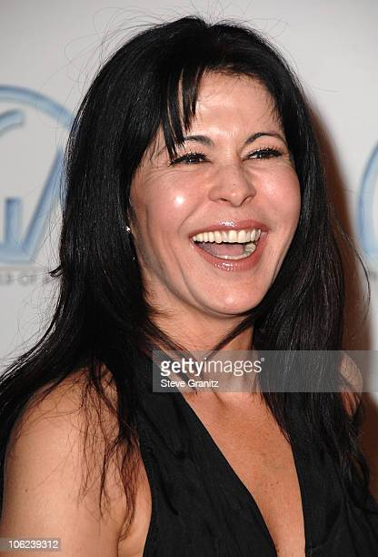 Maria Conchita Alonso during 2007 Producers Guild Awards Arrivals at Century Plaza Hotel in Century City California United States