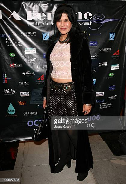 Maria Conchita Alonso during 2nd Annual La Femme International Film Festival Award Ceremony at Fine Arts Theatre in Beverly Hills California United...