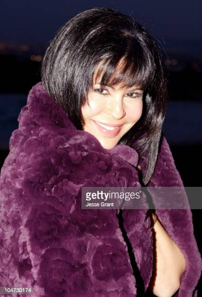 Maria Conchita Alonso during American Red Cross Los Angeles Tsunami and Local Disaster Relief Benefit at The Home of Georgia and Robert Leonard in...