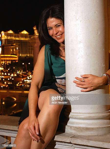 Maria Conchita Alonso during Cine Vegas Film Festival 2003 Maria Conchita Alonso Portraits at Venus Night Club at the Venetian in Las Vegas NV United...