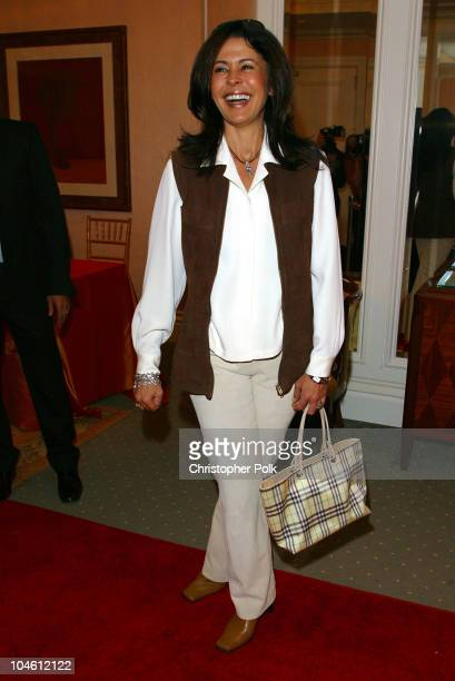 Maria Conchita Alonso during InStyle Sneak Peek at Red Carpet Fashion for the 2003 Awards Season at Beverly Hills Hotel in Beverly Hills CA United...