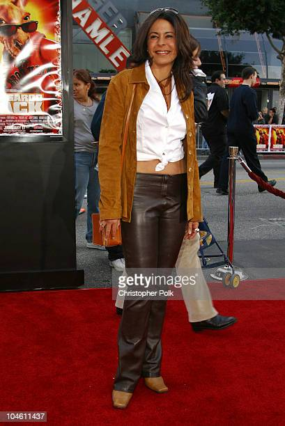 Maria Conchita Alonso during Kangaroo Jack Premiere at Grauman's Chinese Theatre in Hollywood CA United States