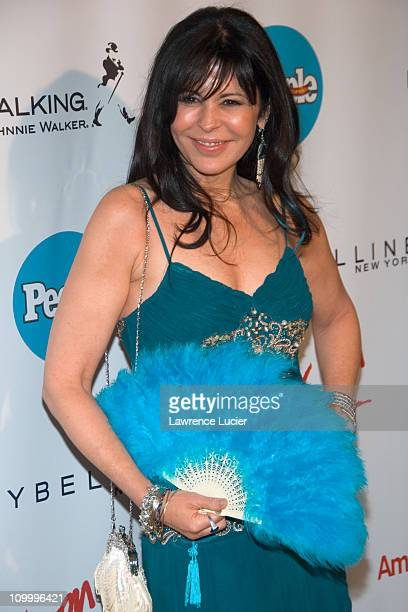 Maria Conchita Alonso during People En Espanol 50 Mas Bellos at Skylight Studios in New York City New York United States