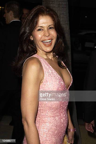 Maria Conchita Alonso during Serving Sara Premiere at Academy Theatre in Beverly Hills California United States