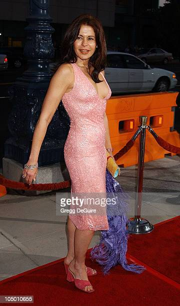 Maria Conchita Alonso during 'Serving Sara' Premiere at Academy Theatre in Beverly Hills California United States