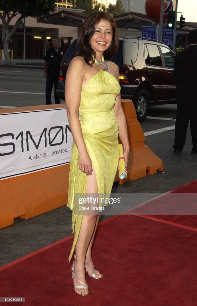 Maria Conchita Alonso during 'Simone' - Los Angeles Premiere at National Theatre in Westwood, California, United States.