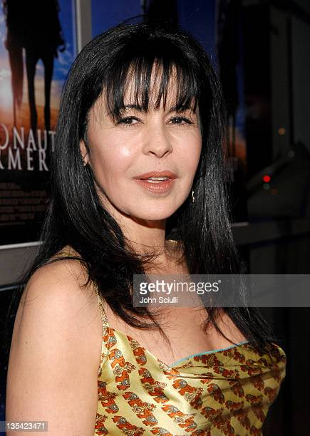 Maria Conchita Alonso during The Astronaut Farmer Los Angeles Premiere Red Carpet at Cinerama Dome in Hollywood California United States