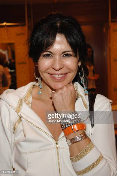 Maria Conchita Alonso during The Lucky Magazine Club 2006 Day 2 at The Ritz Carlton Central Park South in New York City New York United States