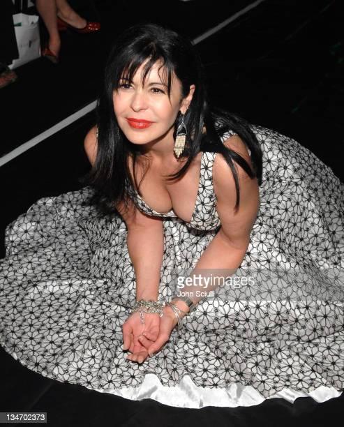 Maria Conchita Alonso front row at Sue Wong Fall 2007