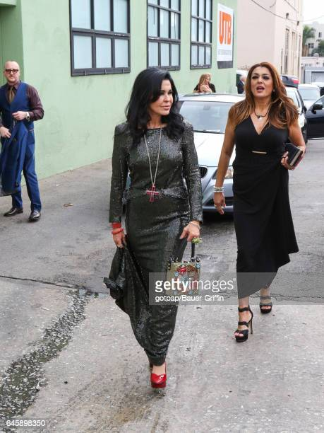 Maria Conchita Alonso is seen on February 26 2017 in Los Angeles California