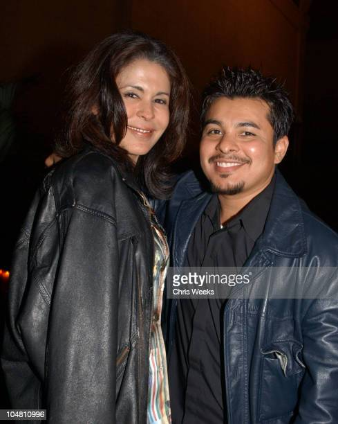 "Maria Conchita Alonso & Jacob Vargas during ""Resurrection Blvd."" Celebrates its 3rd Season, Hosted by Hennessy Cognac, with a $10,000 Donation to..."