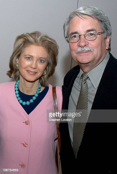 Maria Cooper Janis and Bruce Davis during The Academy of Motion Picture Arts and Sciences Presents a Showing of Wings for Monday Night With Oscar at...