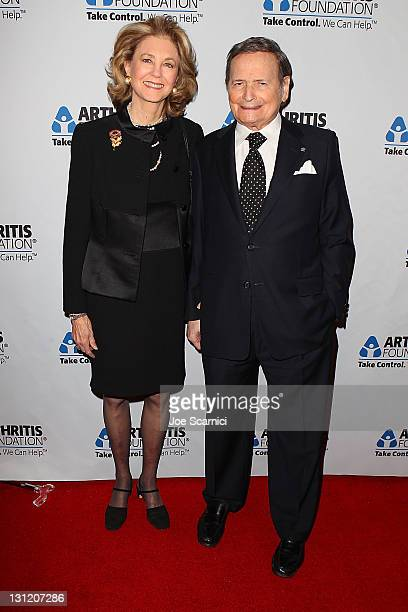 Maria Cooper Janis and Byron Janis arrive at the Arthritis Foundation's Commitment To A Cure Awards Gala at the Beverly Wilshire Four Seasons Hotel...