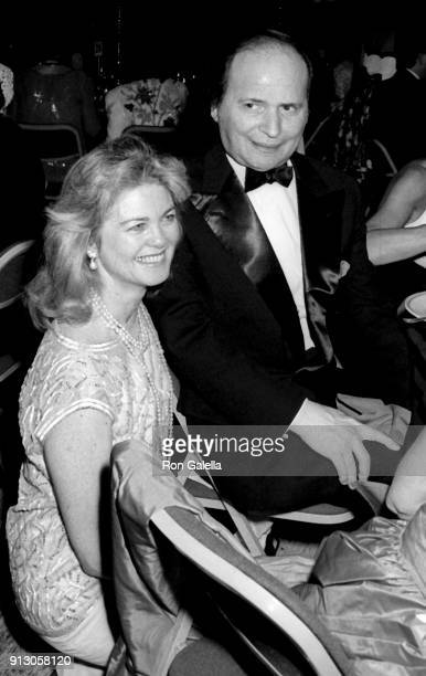Maria Cooper Janis and Byron Janis attend Bolshoi Ballet Opening Night Gala on July 10 1990 at Lincoln Center in New York City