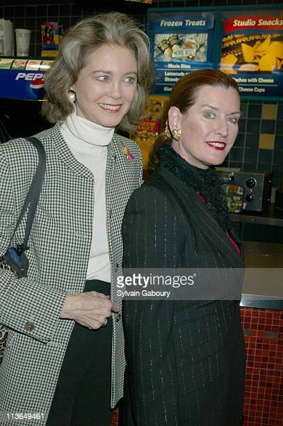 Maria Cooper Janis Angela Hemingway during Jersey Guy Premiere and AfterParty at Chelsea West Cinema Lot 61 in New York New York United States