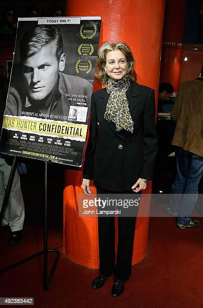 Maria Cooper Janis attends Tab Hunter Confidential special screening at Film Forum on October 12 2015 in New York City