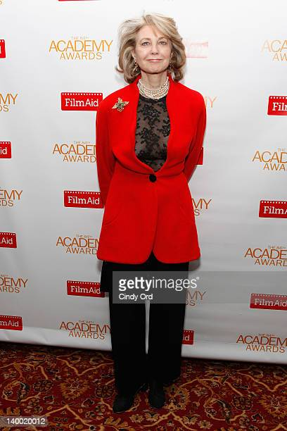 Maria Cooper Janis attends the 2012 Academy of Motion Picture Arts and Sciences Oscar Night Celebration at the 21 Club on February 26 2012 in New...