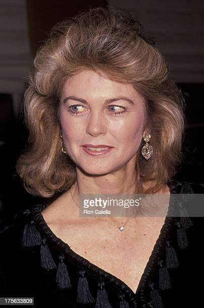 Maria Cooper Janis attends Tribute Gala Honoring Gary Cooper on November 1 1989 at UCLA in Westwood California