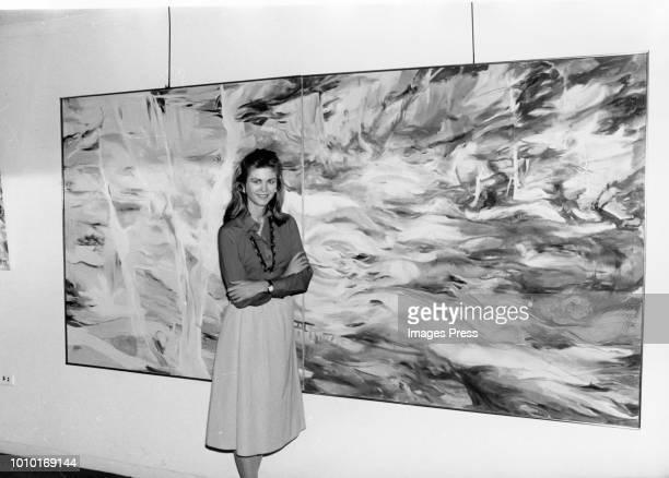 Maria Cooper Janis circa 1979 in New York City