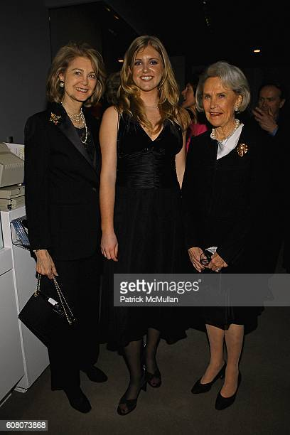 Maria Cooper Janis Vanessa Kinkead and Kay Meehan attend PHILIPPE DE MONTEBELLO and THE METROPOLITAN MUSEUM OF ART Celebrate the Opening of the...