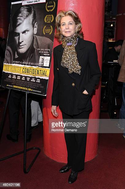 Maria CooperJanis attends Tab Hunter Confidential special screening at Film Forum on October 12 2015 in New York City