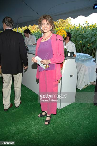 Maria CooperJanis attends the Sunflowers After Hours Dinner to Benefit ACE August 11 2007 in Southampton New York