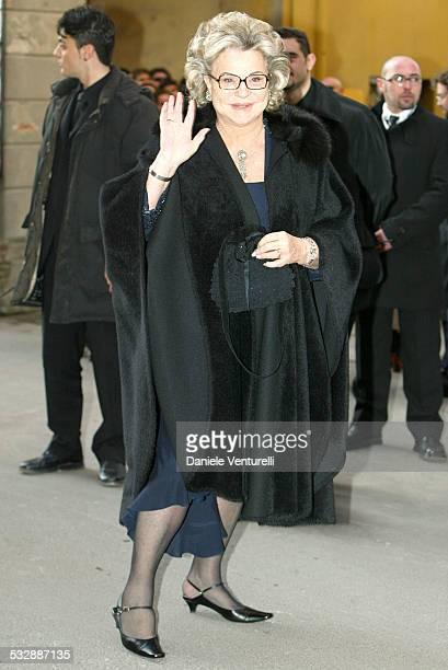 Maria Corfini during Luciano Pavarotti Marries Nicoletta Mantovani at Teatro Comunale in Modena in Modena Italy