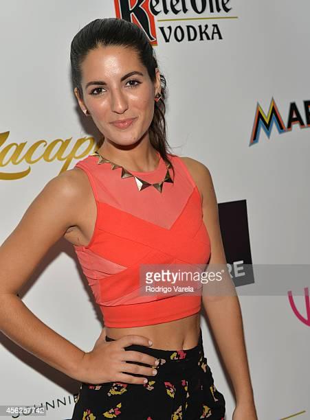 Maria Corina Ramírez attends Venue Magazines 8th Anniversary Celebration at Wall at W Hotel on September 27 2014 in Miami Beach Florida