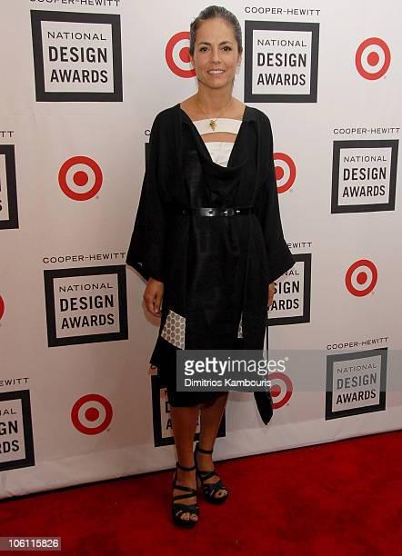 Maria Cornejo during 2006 Cooper-Hewitt National Design Awards Gala at Cooper-Hewitt National Design Museum in New York City, New York, United States.
