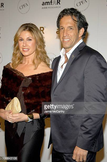 Maria Cuomo Cole and Kenneth Cole at amfAR's New York Gala to Honor Patti LaBelle Sumner Redstone and Peter Dolan