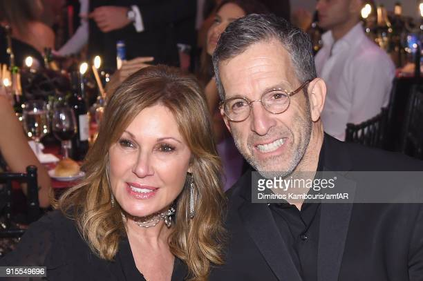 Maria Cuomo Cole and Kenneth Cole attend the 2018 amfAR Gala New York at Cipriani Wall Street on February 7 2018 in New York City