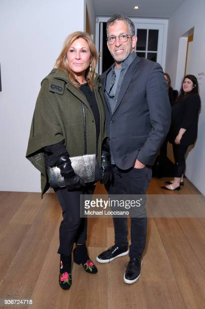 """Maria Cuomo Cole and Kenneth Cole attend the """"Final Portrait"""" New York Screening After Party at Levy Gorvy Gallery on March 22, 2018 in New York City."""