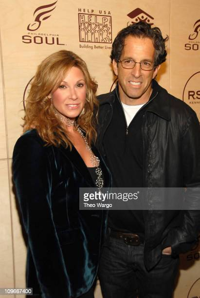 Maria Cuomo Cole and Kenneth Cole during Kenneth Cole's R.S.V.P to HELP Hosted by Jon Bon Jovi and Kenneth Cole - Arrivals at Soho Grand and Tribeca...