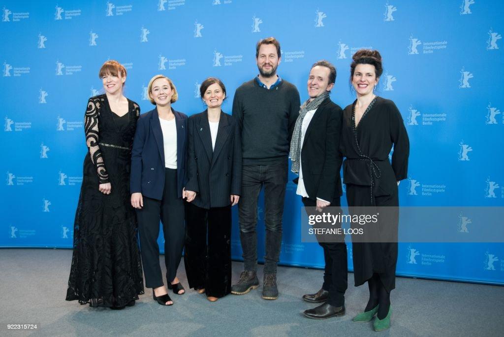 GERMANY-BERLINALE-FILM-FESTIVAL : News Photo