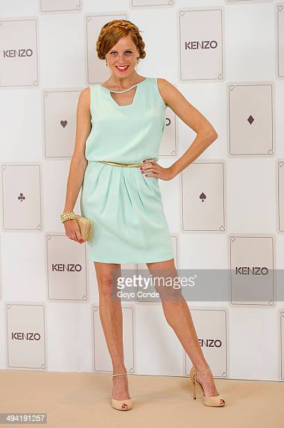 Maria de Castro attends the Kenzo Summer Party photocall at Club Financiero Genova on May 28 2014 in Madrid Spain