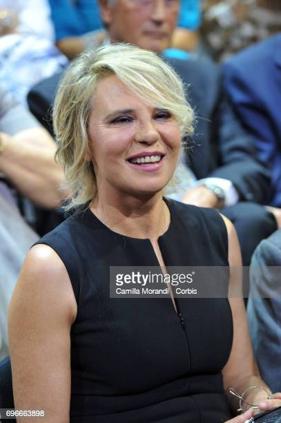 Maria De Filippi attends the Bellisario Awards In Rome on June 16 2017 in Rome Italy