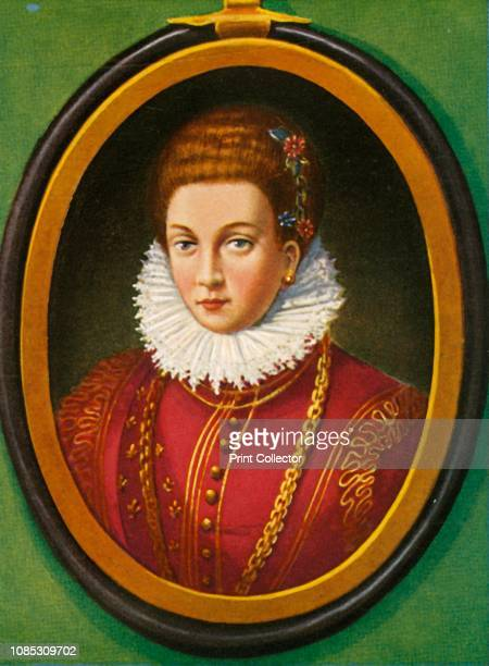 Maria De Medici' Portrait of Marie de' Medici of France second wife of Henry IV She acted as regent for their son Louis XIII after Henry was...