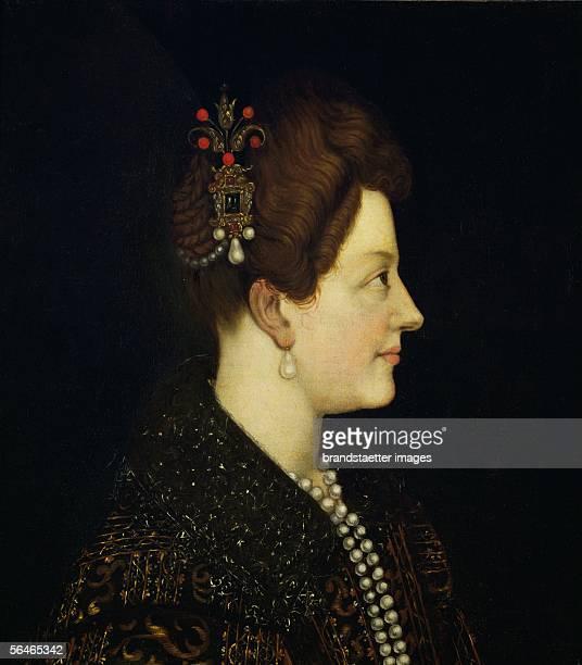 Maria de Medici wife of Henri IV regent for Louis XIII after the assassination of Henri IV Inv 5601 [Maria de Medici Frau von Heinrich IV Regent von...