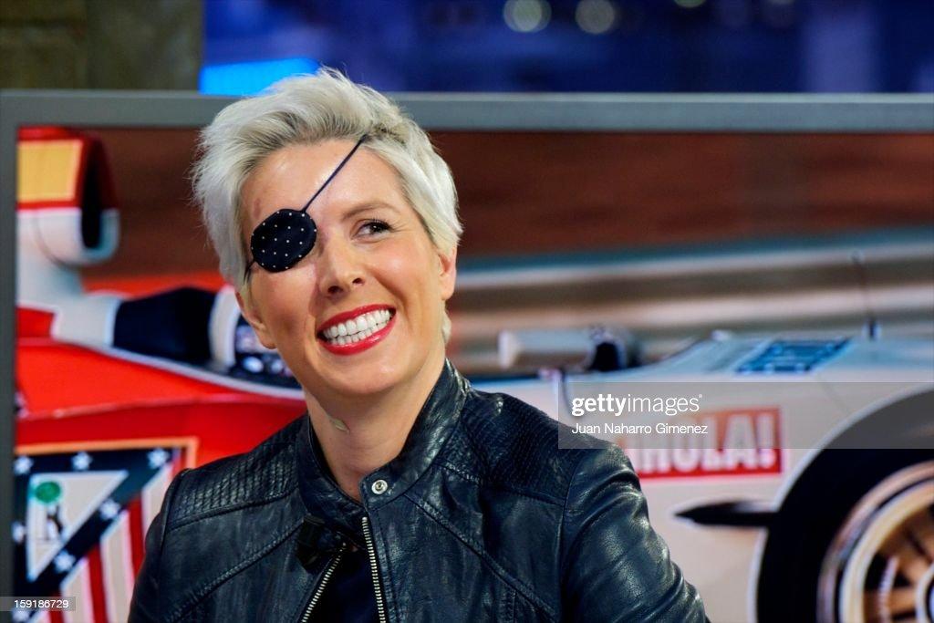 Maria de Villota Attends 'El Hormiguero' Tv Show