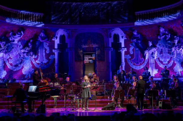 ESP: Maria del Mar Bonet Concert In Barcelona