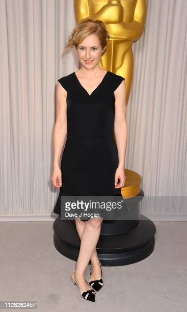 Maria Del Puy Alvarado attends the 91st Oscars Nominee Champagne Tea Reception at Claridges Hotel on February 08 2019 in London England