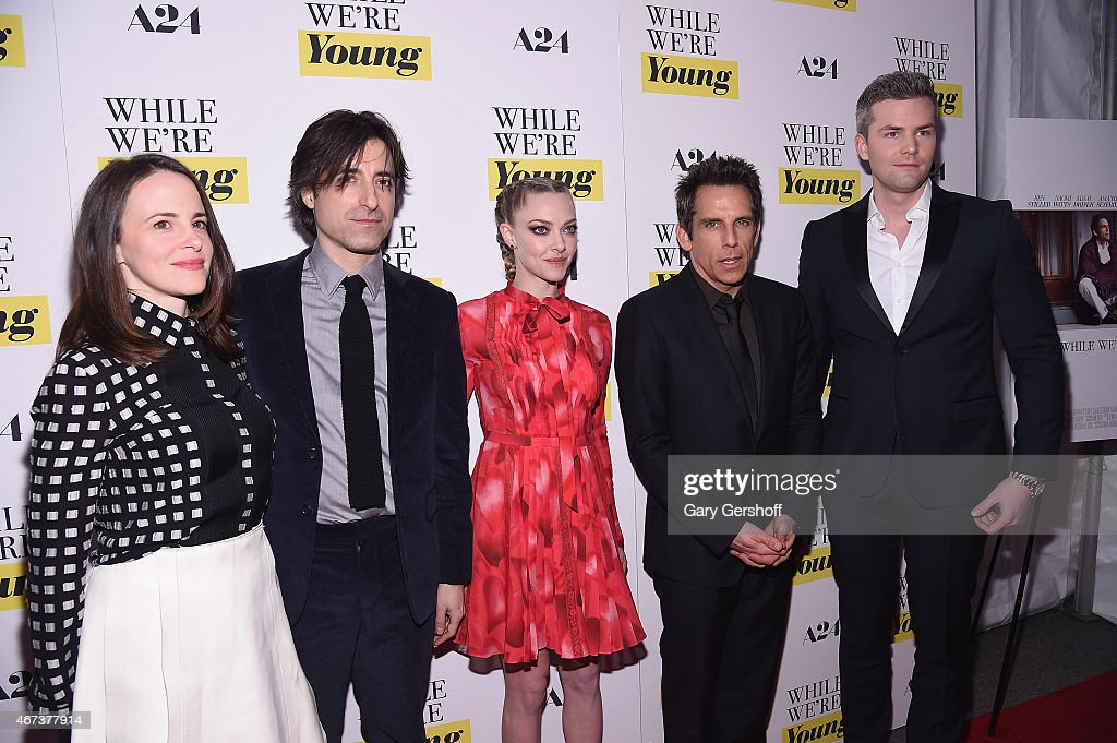 """""""While We're Young"""" New York Premiere : News Photo"""