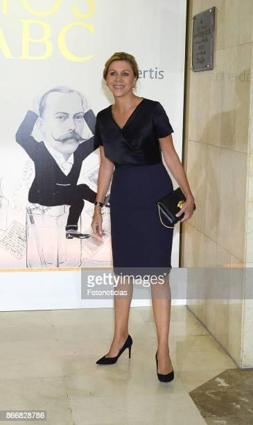 Maria Dolores de Cospedal attends the 'Mariano de Cavia' 'Luca de Tena' and 'Mingote' Journalism awards dinner at Casa de ABC on October 26 2017 in...