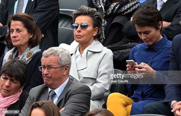 Maria Dowlatshahi attends the women's final on day 14 of the 2016 French Open held at RolandGarros stadium on June 4 2016 in Paris France
