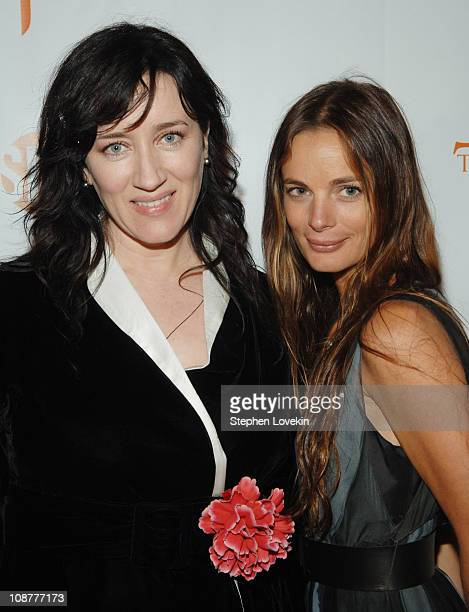 Maria Doyle Kennedy and Gabrielle Anwar during The Tudors Advanced Screening March 28 2007 at The W Union Square Hotel in New York City New York...