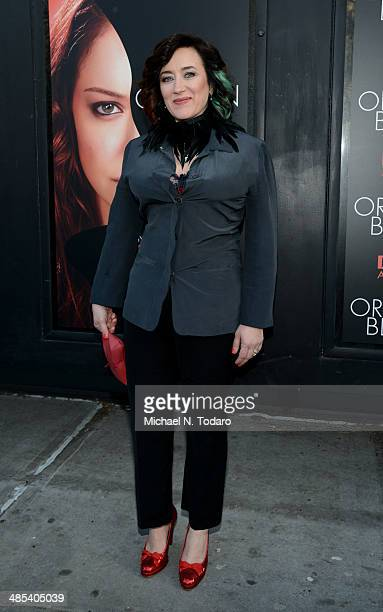 Maria Doyle Kennedy attends the Orphan Black premiere at Sunshine Cinema on April 17 2014 in New York City