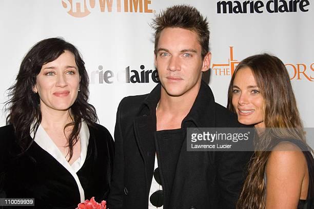 Maria Doyle Kennedy, Jonathan Rhys Meyers and Gabrielle Anwar